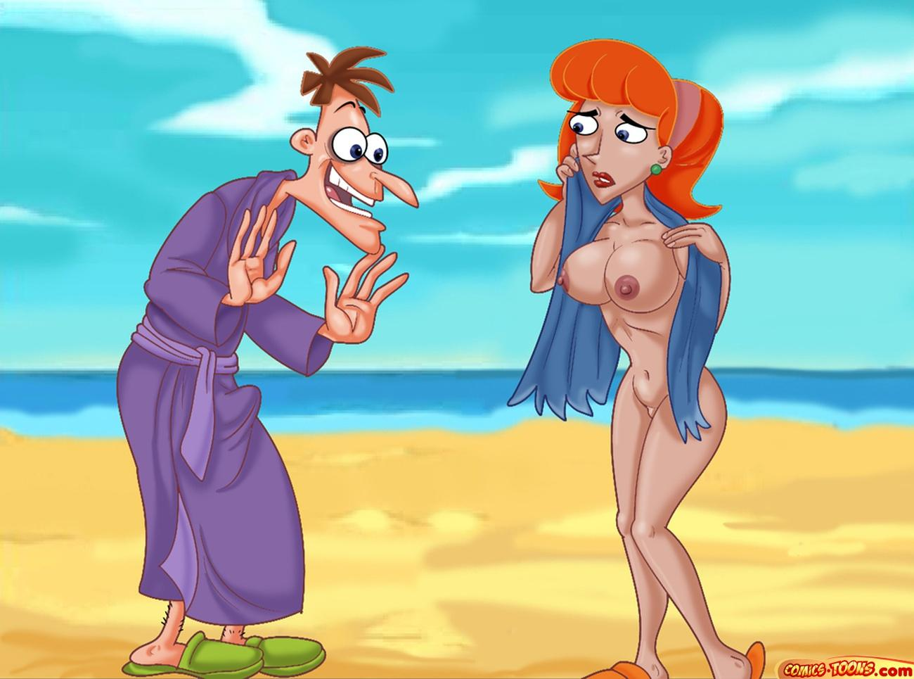 phineas nude linda ferb and Don't starve together wx-78