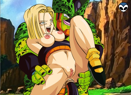 android 18 dragon ball z Bbc cum in my ass