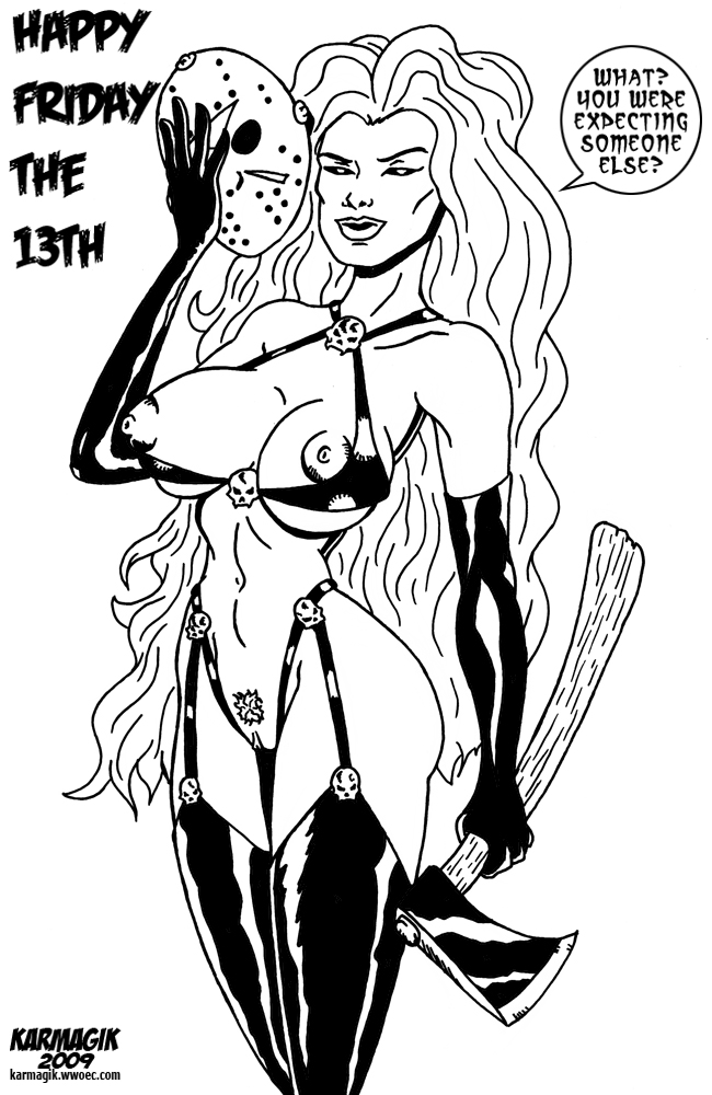 the nudity 13th friday game the April o'neil hentai best art