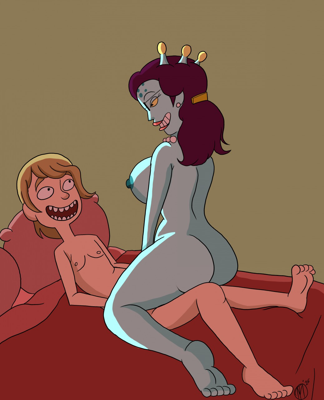 morty sexy naked and summer rick Constraint copulation sequester gangbang edition