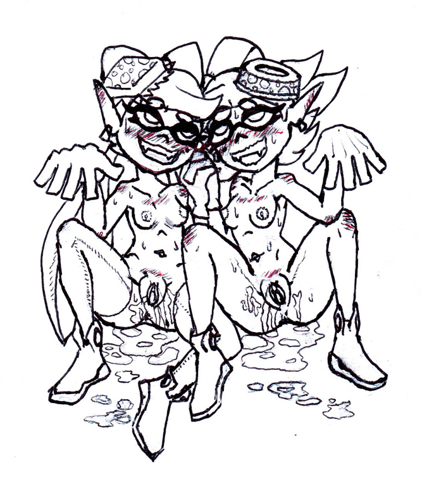 splatoon and callie hentai marie The legend of jenny and renamon