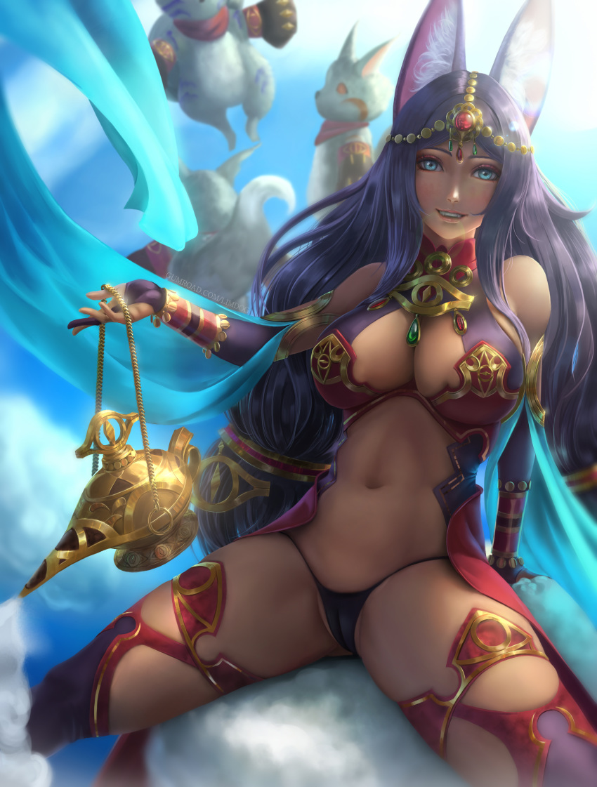 sheba queen go fate of League of legends lamb and wolf
