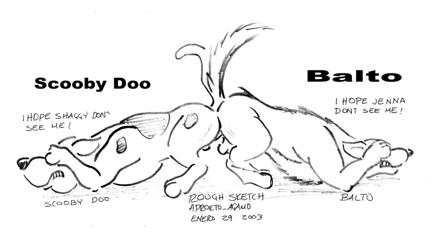 doo a named pup porn scooby Tears-of-blade