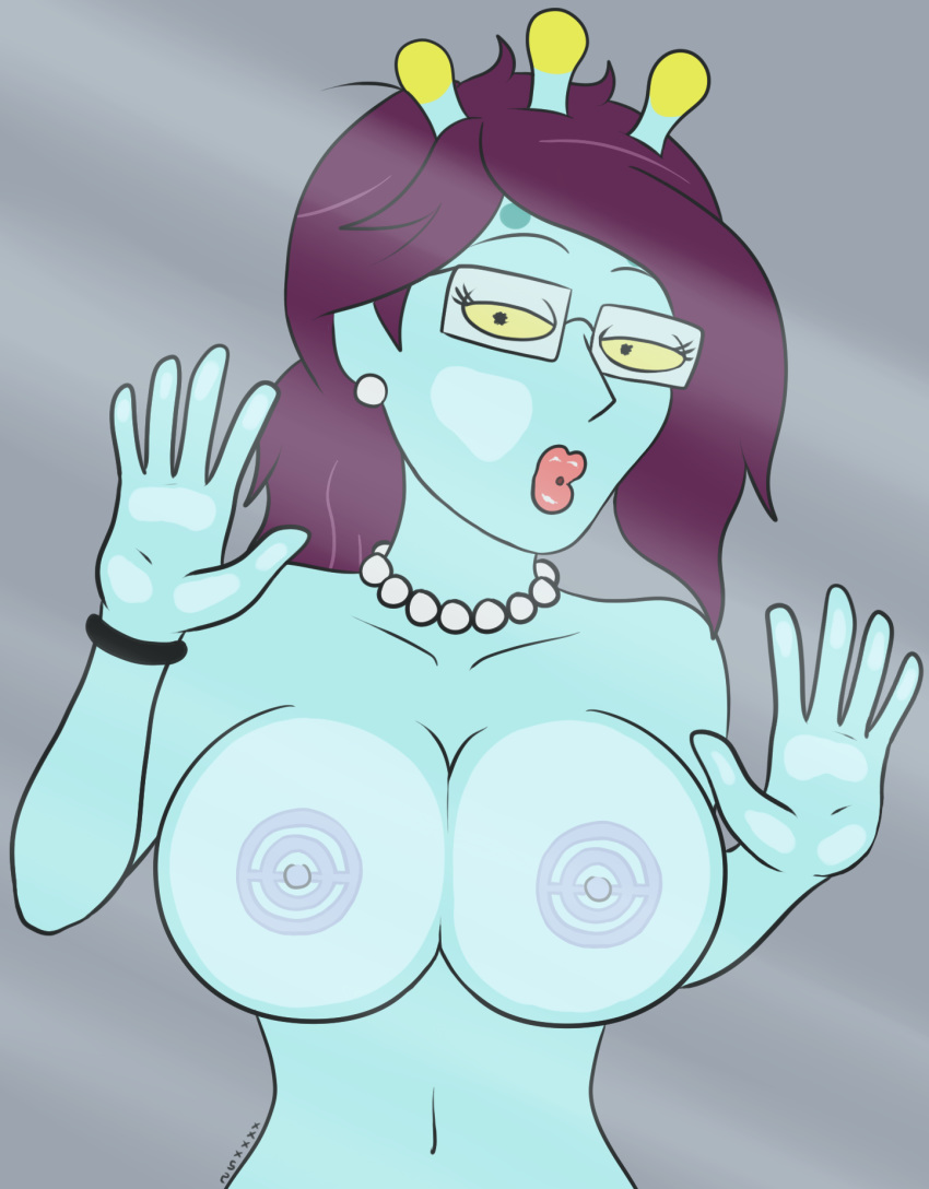 dinosaur stripper morty and rick Gwen from total drama island