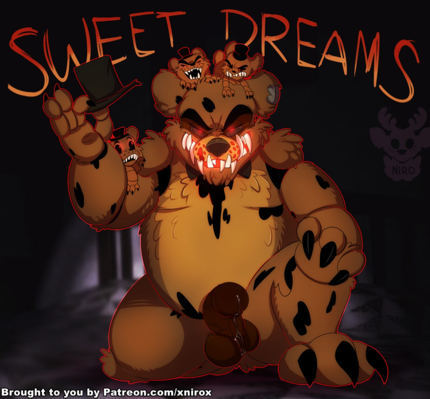 freddy golden fnaf x springtrap Just shapes and beats